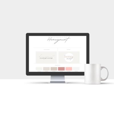Branding Design: Honeymint.org
