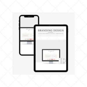 E-book over Branding Design